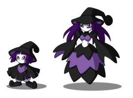 Duskwitch and Evolution by 070trigger