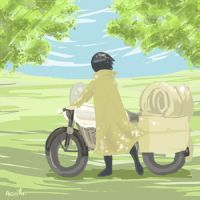 Kino's Journey by neng-neng