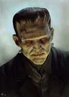 Frankenstein monster by TomasKral