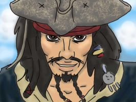 jack sparrow by eternallost