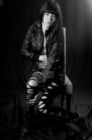 Valerie in leather by vincepontarelli