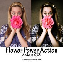 Flower Power Action by sd-stock