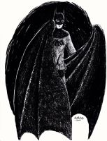 Son of the Silent Age Bat-Man by herbertzohl