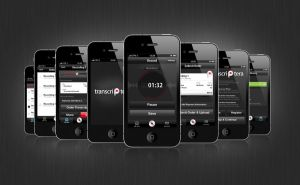 Transcriptera App design by DmitriyChuta
