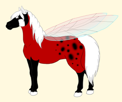 Francis the Ladyhorse 8D by KamiraWolfDemon
