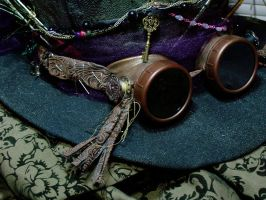 Steampunk Hatter Goggles 1 by ThePromethean