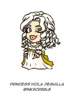 Gift Art: Princess Viola by DaineN