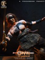 Conan the Barbarian - Temple of the Serpent by CalvinsCustom