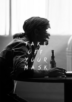 True Detective 'Take off your mask' Fan art by Circusbrendan