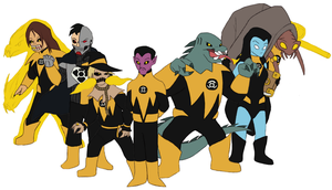 Sinestro Corps by Gaiash