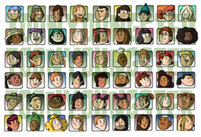 Total Drama Avatars by ToonYoungster
