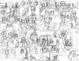 The Redeemers #4 thumbnails by wheretheresawil