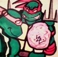 Mikey's Humor Post-It by dark-es-will