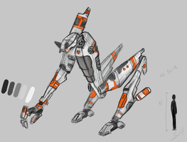 Mech Concept by adimatters