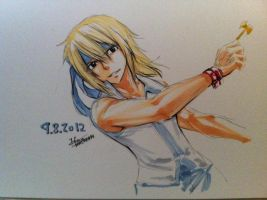 Lucy Heartfilia [male version] by FicchanNaLu