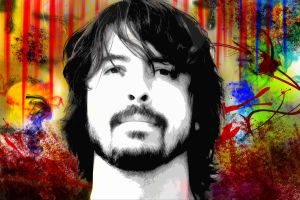 Dave Grohl... Emergence and Present by sarangpurandare
