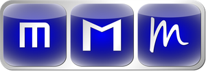 Linux mint sqare blue logos-icons by Ivanmladenovi