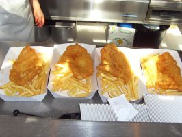 4 packs of Fish N' Chip by Gexon