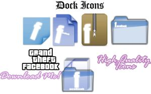 Facebook - FaceFile icons Pack by Vicecity2010