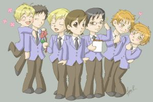 Ouran Host Club by King-Tamaki-Club