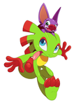 Yooka-Laylee by ss2sonic