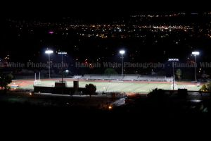 Football at Night by hwphotography