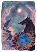 Katschawatscha - 'Night with the Wolves' by Miss-Belfry