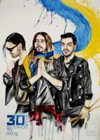 30 seconds to Mars/ UKRAINE by TanyaPaperniuk