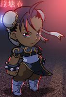 Chibi Chun  Li Night Alternate by Orinknight