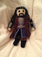Thorin Oakenshield - Crochet by Neverfallforfun
