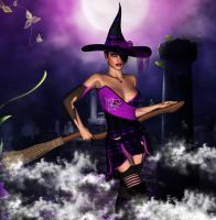 Trick or Treat for Witchery by crenderIT