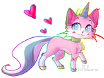 unikitty by frostedpuffs