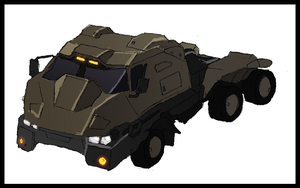 Cargo truck circa 2008 by Great-5