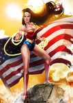 Hero Stand - Wonder Woman by Arcan-Anzas
