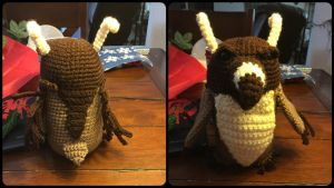 Moonkin Amigurumi (World of Warcraft) by ElleDOS