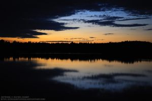 Paudash Lake Sunset by 8TwilightAngel8