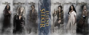 Legend of the Seeker bookmarks by ATildeProduction