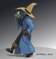 Order of Tyr: Mage by hybridmink