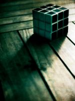 Rubik's in the dark by hoong