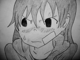 Embarrassed Maka by FearsomeX23