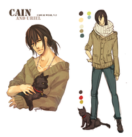 :Cain: Design Sheet - Casual by Chuuchichu