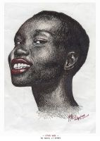 Alek Wek by malicent