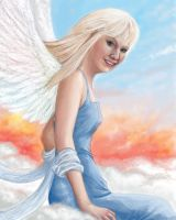 Christelle's Angel by Ultyzarus