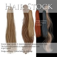 Hair stock PSD files by CindysArt