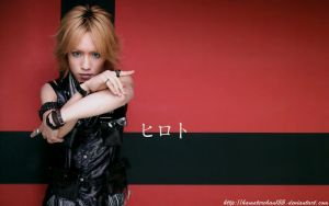 hiroto red wallpaper by hamsterchan155