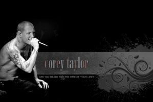 Corey Taylor wallpaper 5 by flatlace