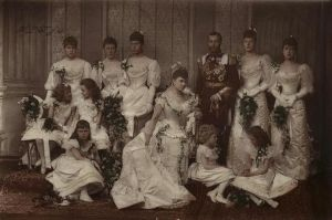 Royal wedding in 1893 by Linnea-Rose