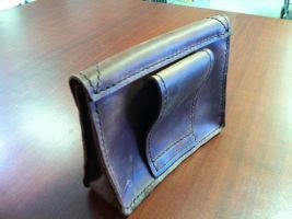 assassins creed altiar's back pouch by MerrillsLeather
