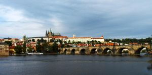 Charles Bridge and The Castle03 by abelamario