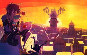 Twilight Town by The-EverLasting-Ash